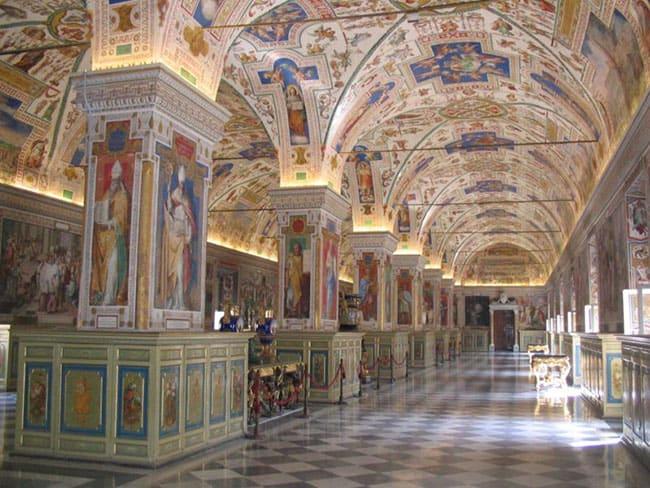 A biblioteca do Vaticano vai surpreender você