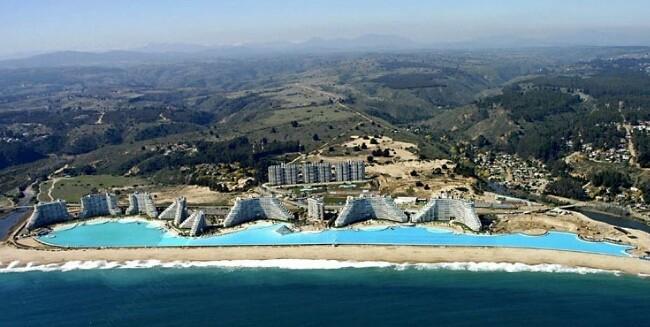 Conhe a a maior piscina do mundo no chile dicas de viagem for Piscina chile