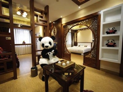 Conheça o primeiro hotel de pandas do mundo, na China