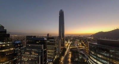 Chile abre as portas do mirante mais alto da América do Sul