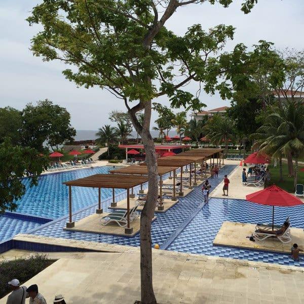 viagem para Cartagena - resort