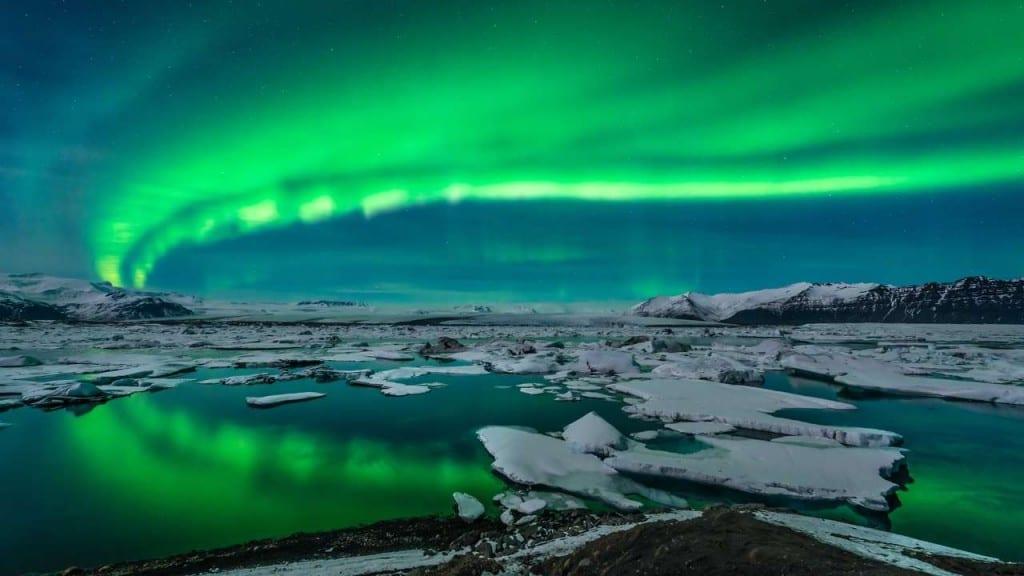 Os 10 melhores lugares para ver a aurora boreal e a austral