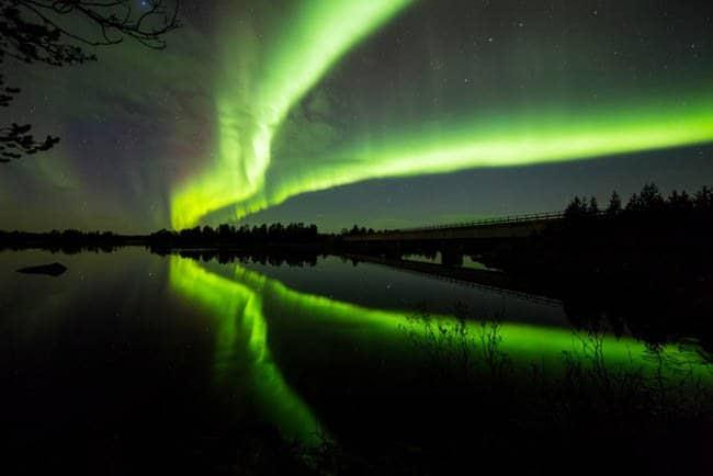 Aurora Boreal na Finlandia