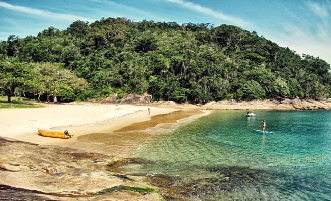 Ilha do Tamandua As melhores praias de São Paulo