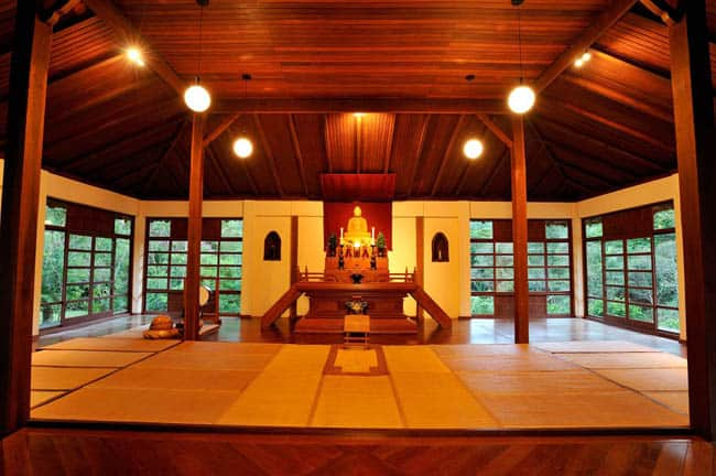 Mosteiro Zen Budista Morro da Vargem, em Ibiraçu-ES