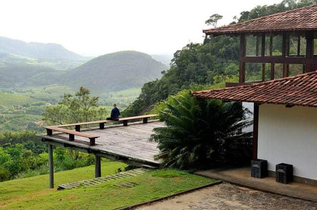 Kenzen, no Mosteiro Zen Budista Morro da Vargem, em Ibiraçu-ES.