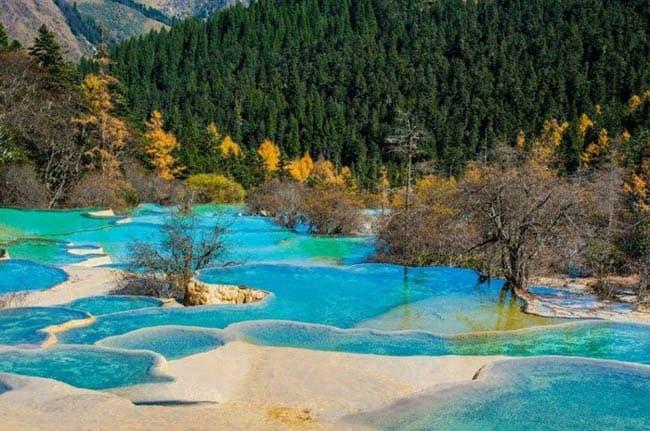 Resultado de imagem para Parque Nacional de Huanglong