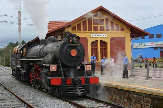 Viagens de trem turístico são opção de lazer em São Paulo