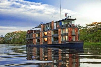 Aqua Expeditions: cruzeiro de luxo na Amazônia