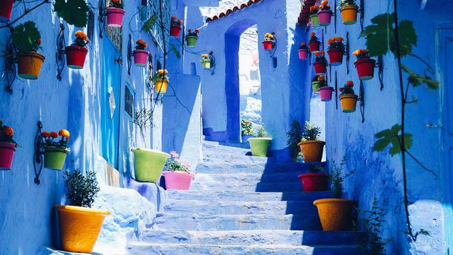 Conheça Chefchaouen, a cidade azul de Marrocos