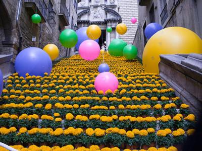 Festival de Flores de Girona celebra a Primavera na encantadora cidade espanhola