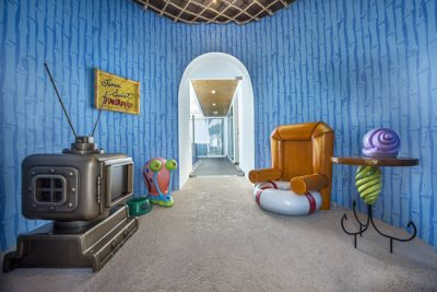 Resort da Nickelodeon inaugura casa do Bob Esponja em Punta Cana