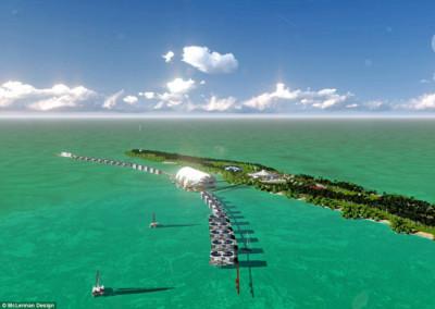 Eco-resort de Leonardo Dicaprio em Belize abrirá as portas no próximo ano