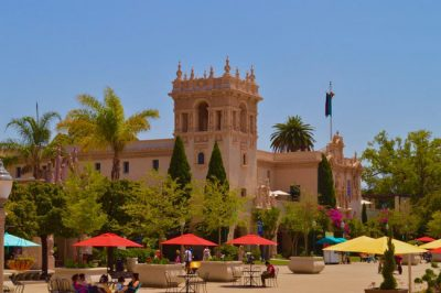 Com museus, jardins e zoológico, Parque Balboa é o mais visitado de San Diego