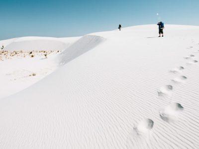 White Sands National Monument, o exuberante deserto branco do Estados Unidos