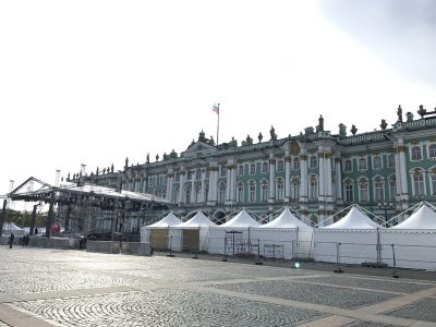 Hermitage, um museu surpreendente na Rússia