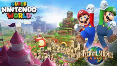 Japão terá parque temático do Super Nintendo World com atrações do Mario Kart