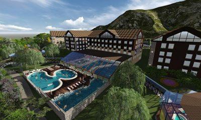 Resort e parque de águas termais será inaugurado em Gramado em 2018