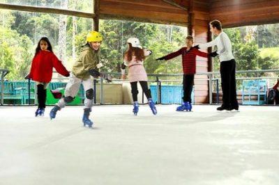 Onde encontrar pistas de patinação no gelo no Brasil?