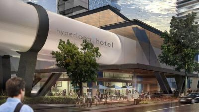 Hotel do futuro poderá conectar cidades com transporte de alta velocidade