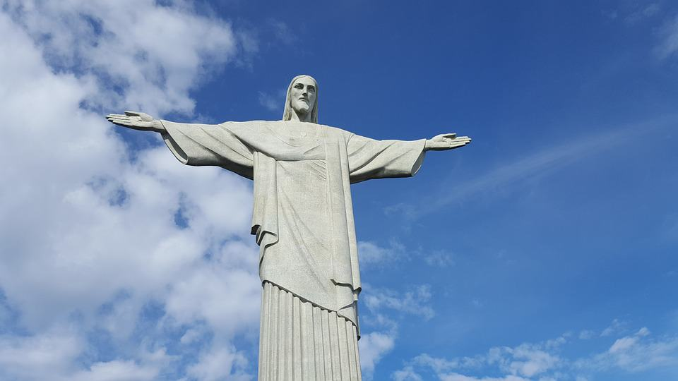 Resultado de imagem para CRISTO REDENTOR – RIO DE JANEIRO, BRASIL